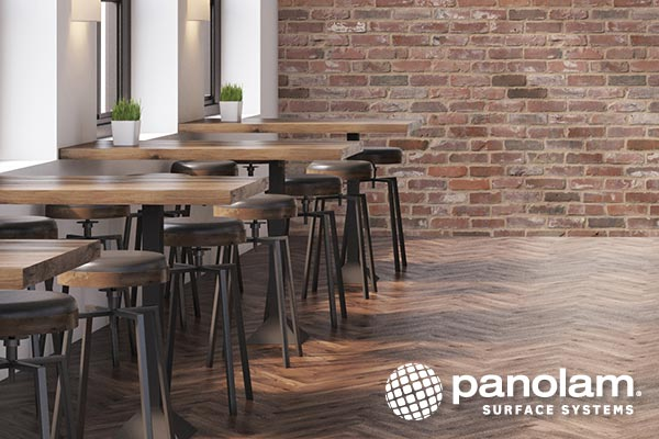 Panolam decorative FRP wall panels in brick